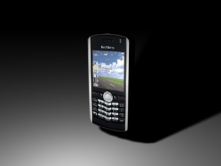 blackberry t-mobile pearl 3d model
