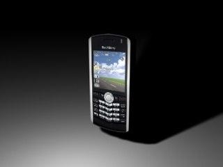 blackberry t-mobile pearl 3d model