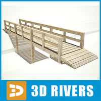 Wooden bridge by 3DRivers