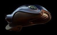 bug car c4d