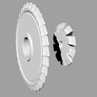 3d model mill