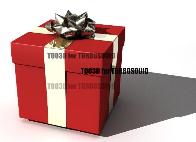 gift box 3ds