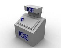 box ice 3d max