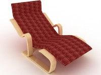 Isokon Chair - High Quality Furniture 3D model