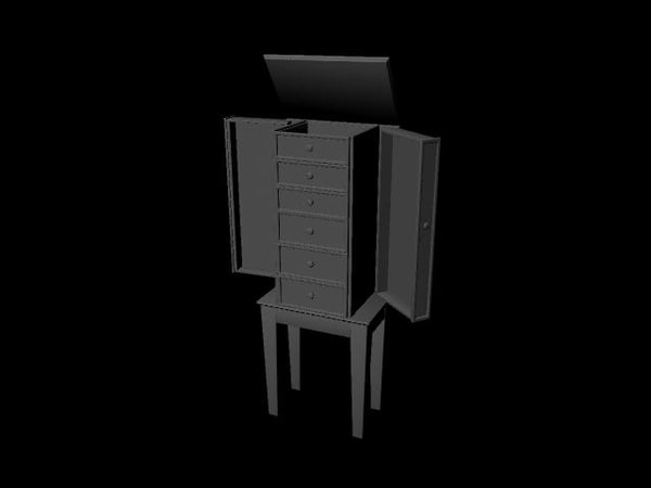 standing box 3d ma