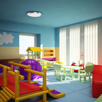 play room 3d model