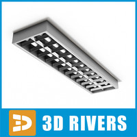 Fluorescent lamp by 3DRivers