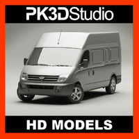 3d model of ldv maxus