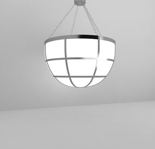 max light fixture hanging