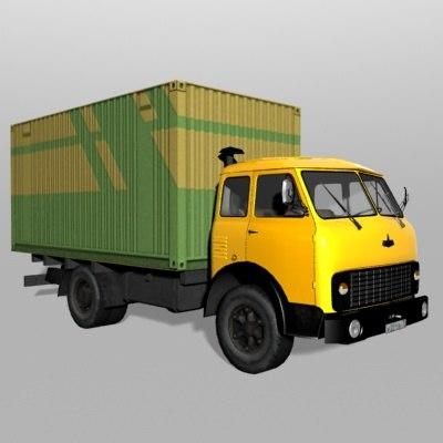 3d maz-514 maz model