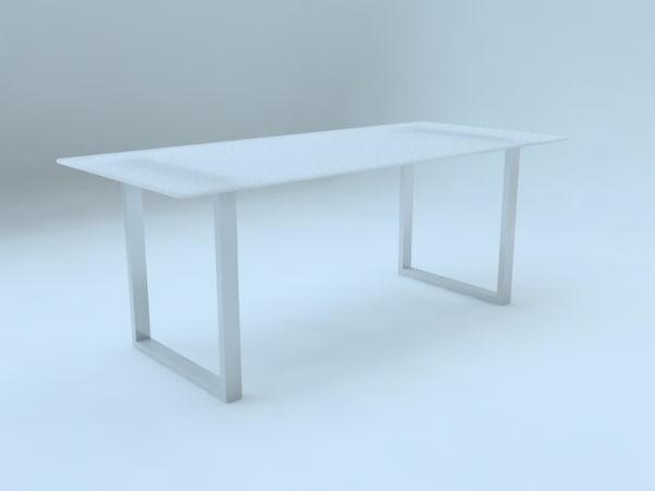 3d model desk escritorio