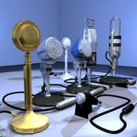 max vintage microphone 01 radio