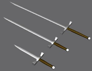 3dsmax medieval weapons
