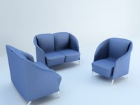 3d model sofas sillones