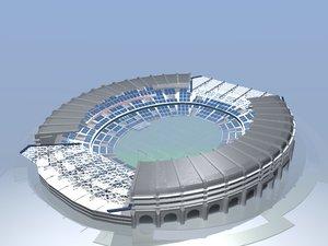 football stadium blend