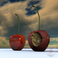 3d cerezas cherries