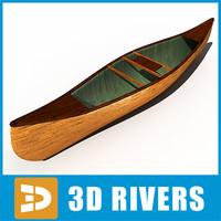 wooden canoe 3ds