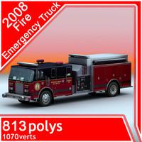 2008 Fire Emergency Truck