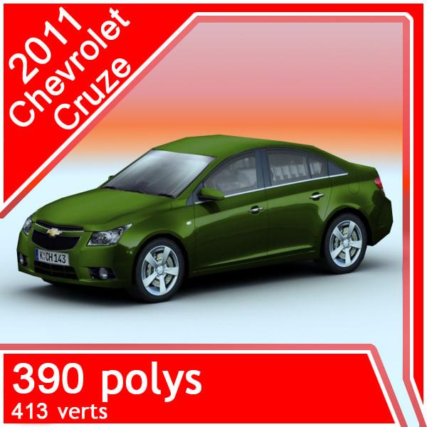 2011 chevrolet cruze car games max