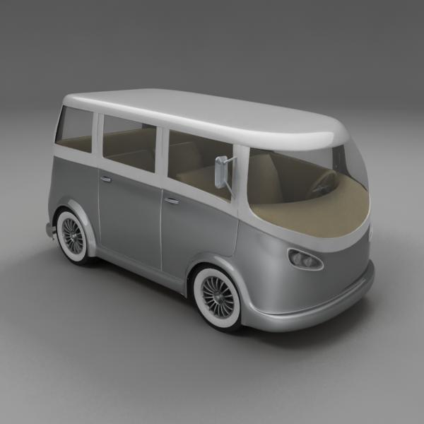 mini van 3ds