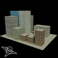 free x model buildings polys
