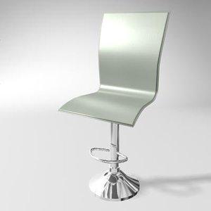 pub chair 3d max