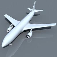 Airbus 3D Model A300 UT