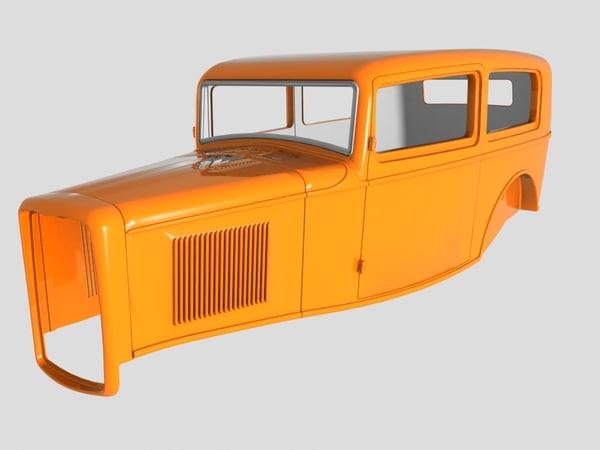 1932 tudor sedan body 3ds