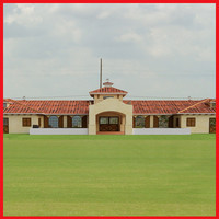 polo stable spanish stile 3d model