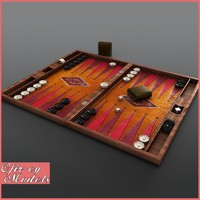 max backgammon board play