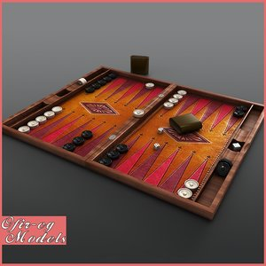 max backgammon board play
