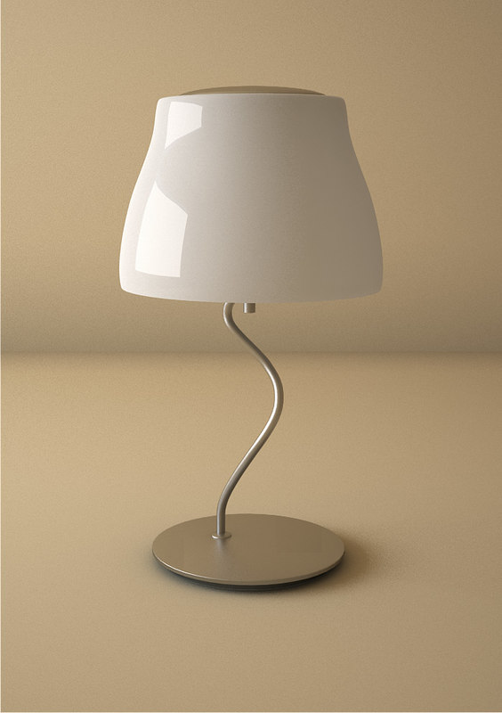 modern table lamp 3ds