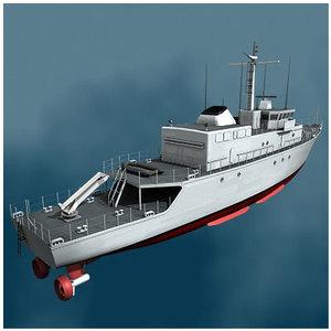 3d warfare vessel cmt eridan