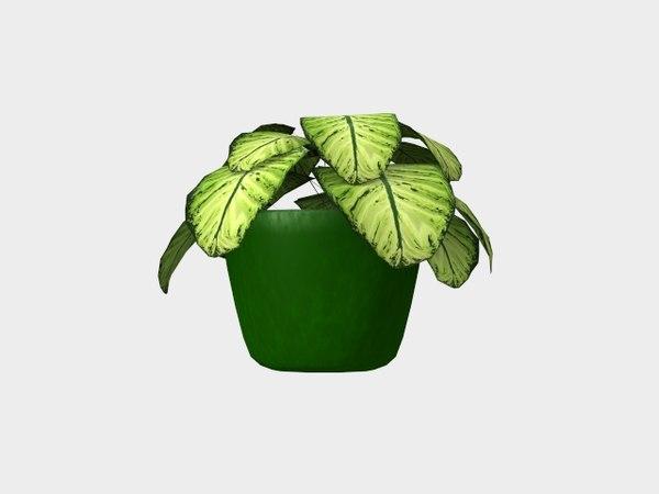 3d model flowerpot