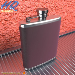 3d hip flask 02