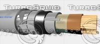 3d model lead 3x35 mm2 sv