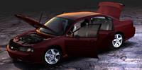 3ds max chevrolet impala ls