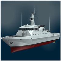 3d offshore patrol vessel opv54