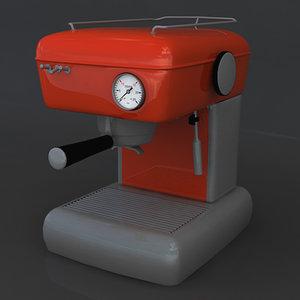 3d model espresso machine