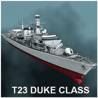 Duke class (type 23) frigate