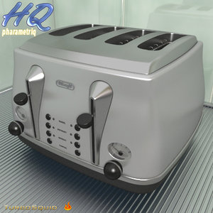 3d toaster 01 model