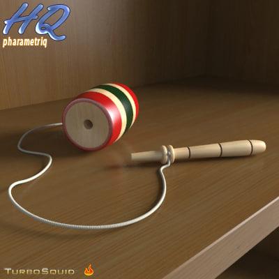 3d toy 01 model