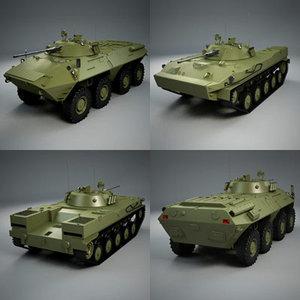 3d btr90 bmd-3 model