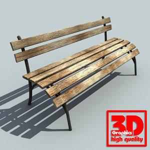 street bench max