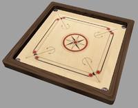 3d model carrom board