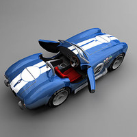 3d video ac cobra model