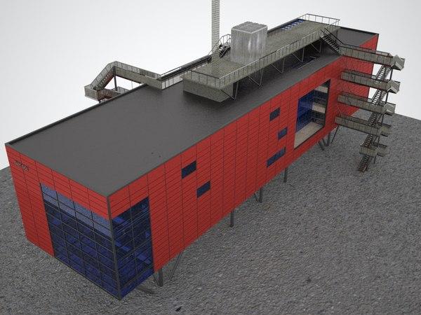 3d infobox berlin model