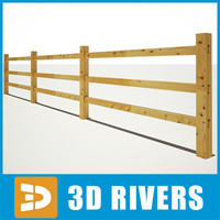 3ds max fence wall