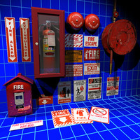 Fire Hose Reel Collection 01