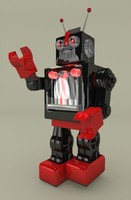Retro Toy Robot